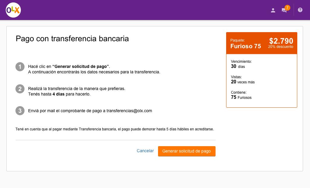 C mo son los procedimientos para realizar los pagos for Transferencia bancaria